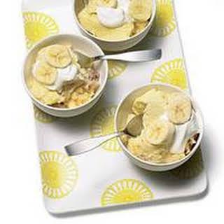 Banana-Lemon Pudding Cake.
