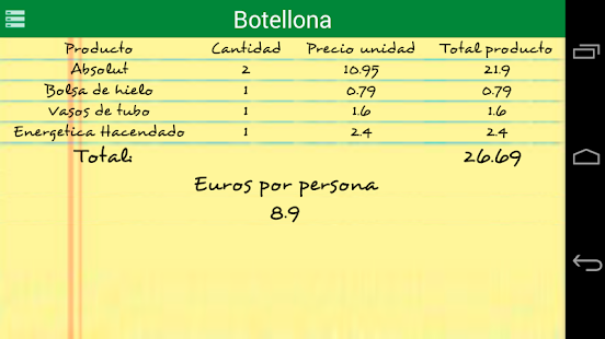 Botellona - screenshot thumbnail