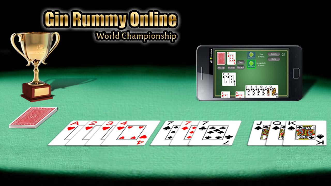Gin Rummy Online FREE - screenshot