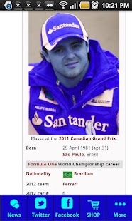 Felipe Massa 2012 - screenshot thumbnail