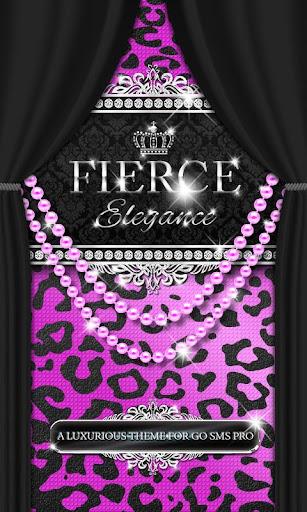 Luxury Theme Purple Leopard ★
