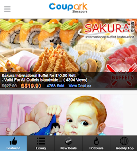 Coupark Singapore BIG Deals- screenshot thumbnail