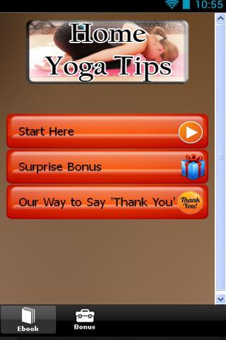 Home Yoga Tips