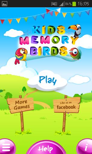 Memory Game Match Birds