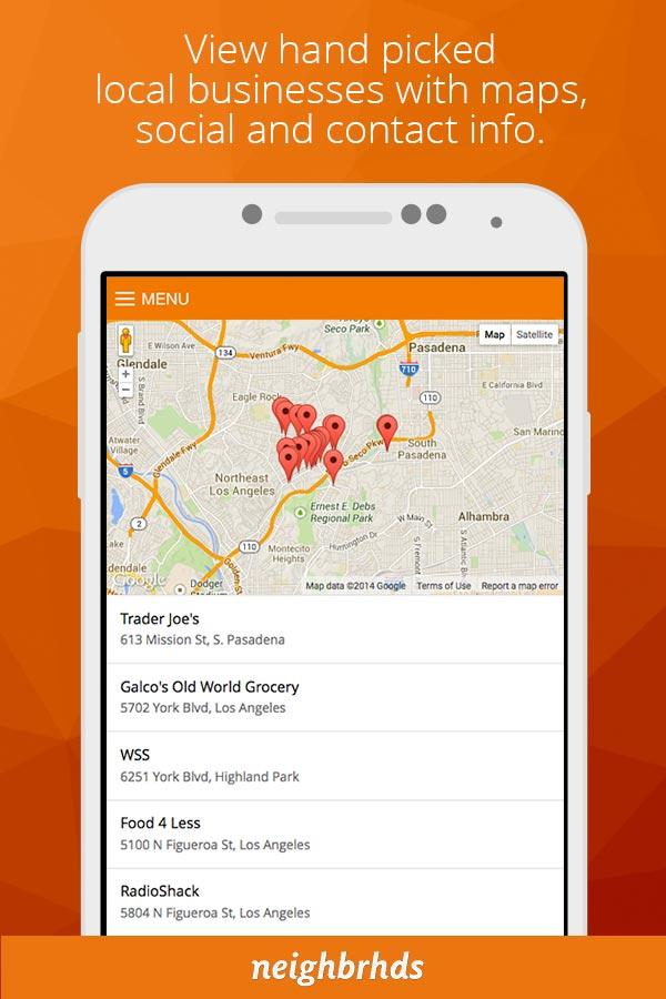 Screenshots of Malibu for iPhone