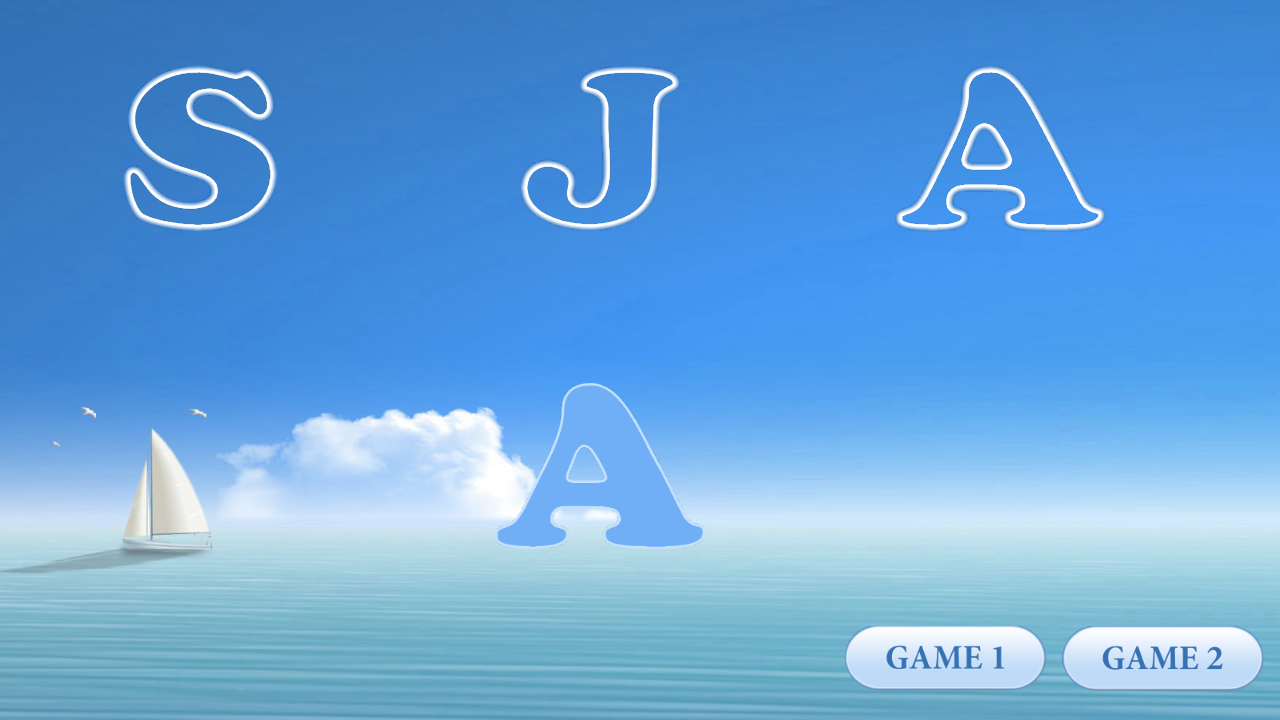 Kids games: Learning letters- screenshot