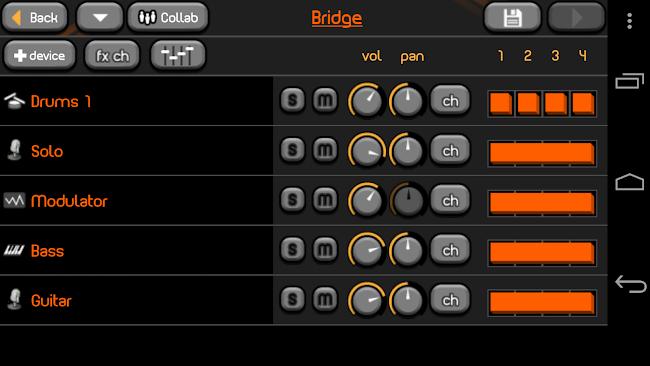 PocketBand Pro - Social DAW- screenshot thumbnail