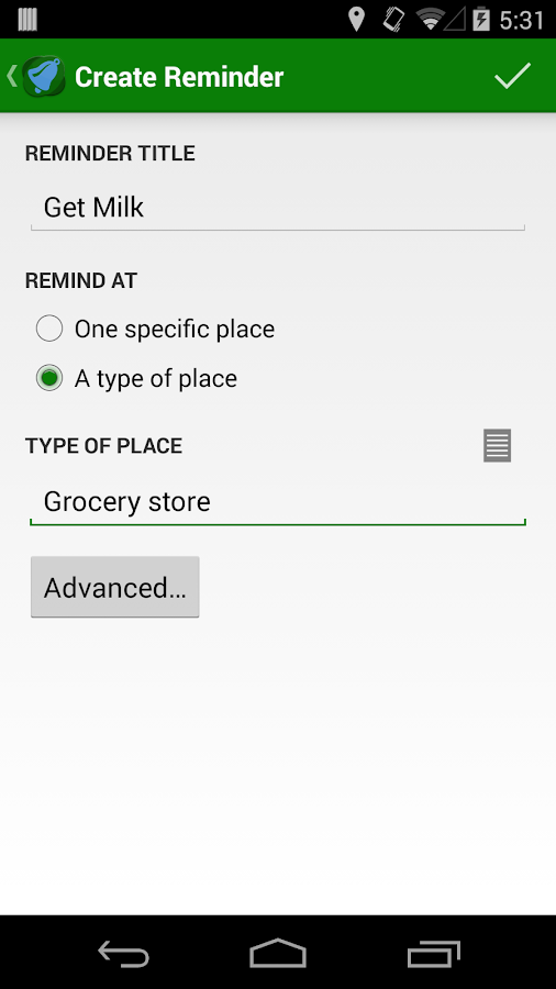 Geobells: Location Reminders- screenshot