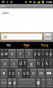ThickButtons Keyboard - screenshot thumbnail