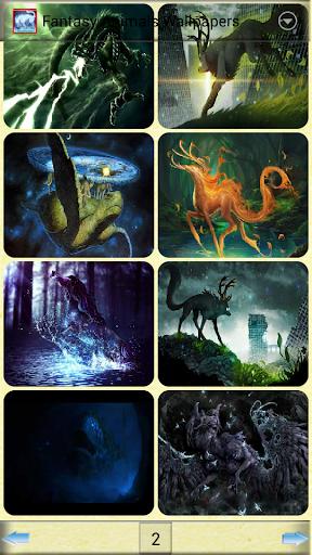 幻想動物壁紙