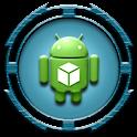 HD Icons: Dark Edges - Blue icon