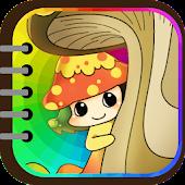Kids Coloring (Vegetable elf)