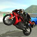 Motorbike Traffic Racer 3D icon