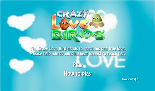 Crazy Love Birds Jumping Game