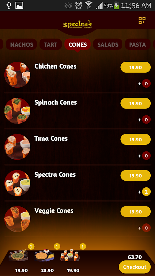 Spectra Restaurant (Egypt)- screenshot