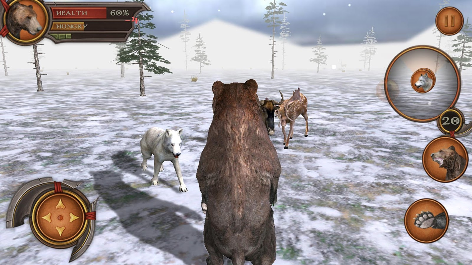 bear forest 3d simulator android apps on google play