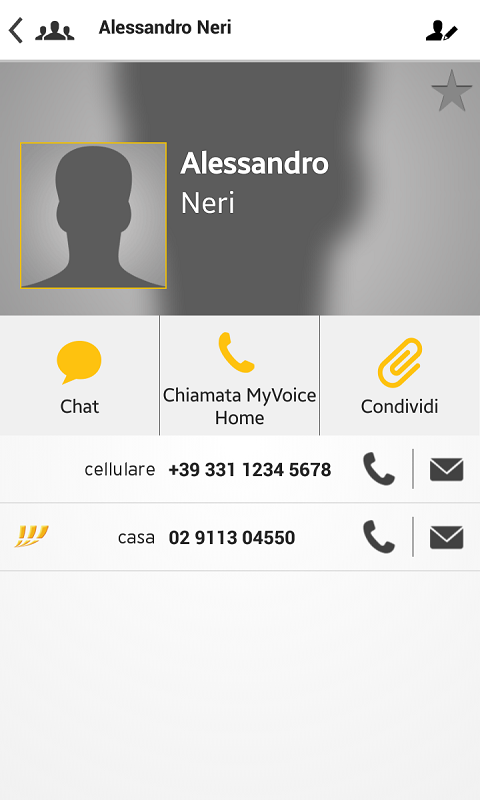 MyVoice Home - screenshot
