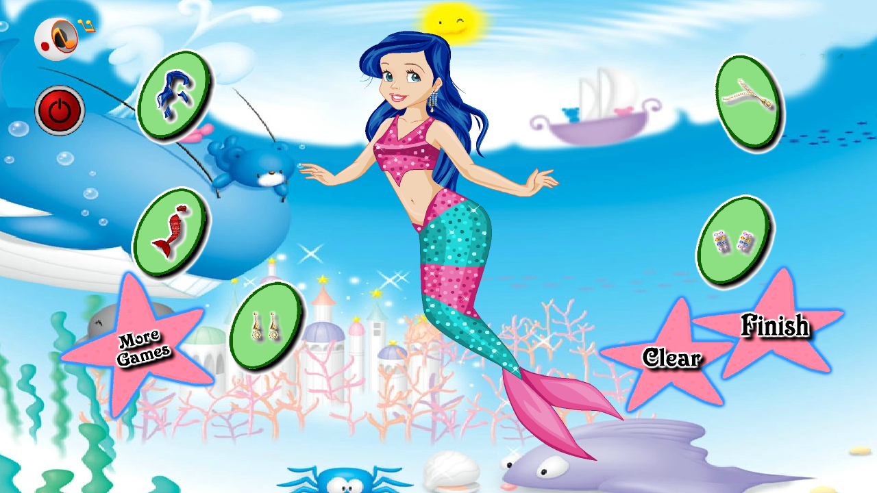 mermaid princess girls games android apps on google play