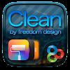 Clean GO Launcher Theme