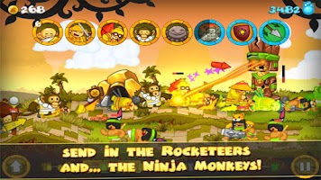Screenshot of Swords and Soldiers