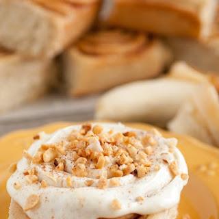 Banana Bread Cinnamon Rolls