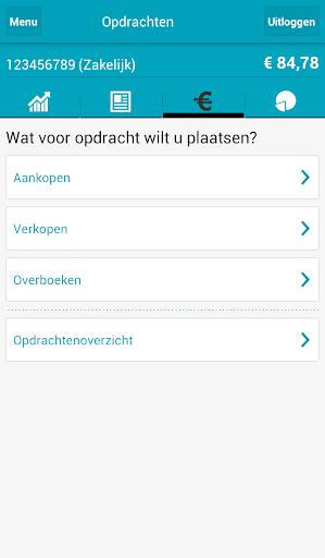 Screenshots #4. Mijn Robeco / Android