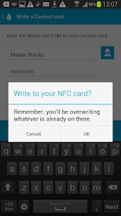 NFC par MOO - screenshot thumbnail