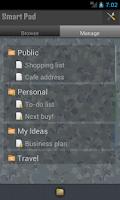 Screenshot of SmartPad - Notes, Todo & Snaps