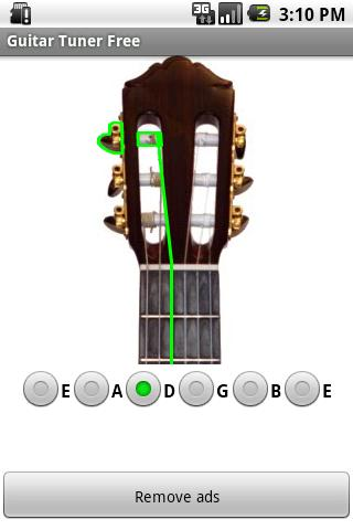 Guitar Tuner - screenshot