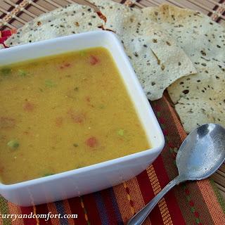 Spicy Lentil (Masoor Dal) Soup
