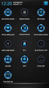 Radient Blue Theme CM11/AOKP v4.0