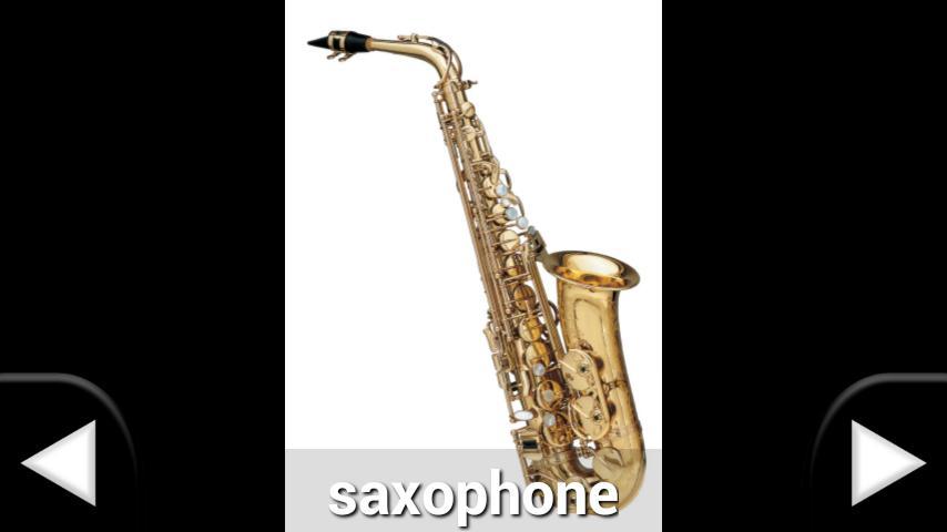 Instrumentos Musicales español - screenshot