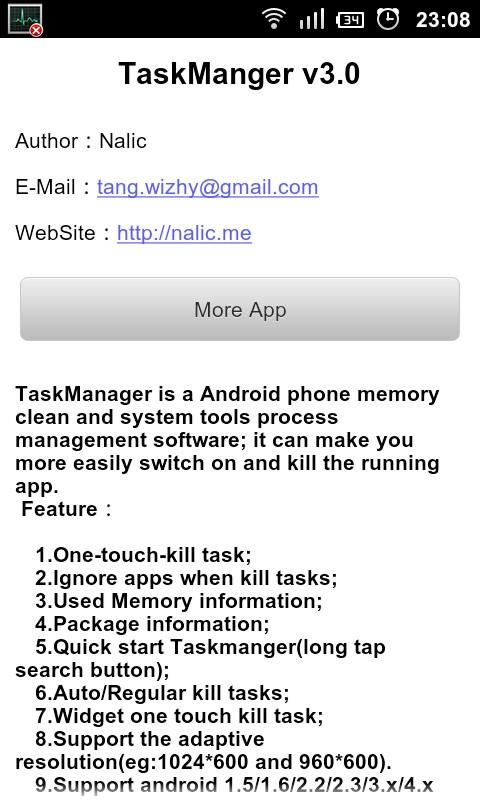 TaskManager - screenshot