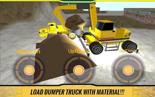 Sand-Excavator-Dump-Truck-Sim 5
