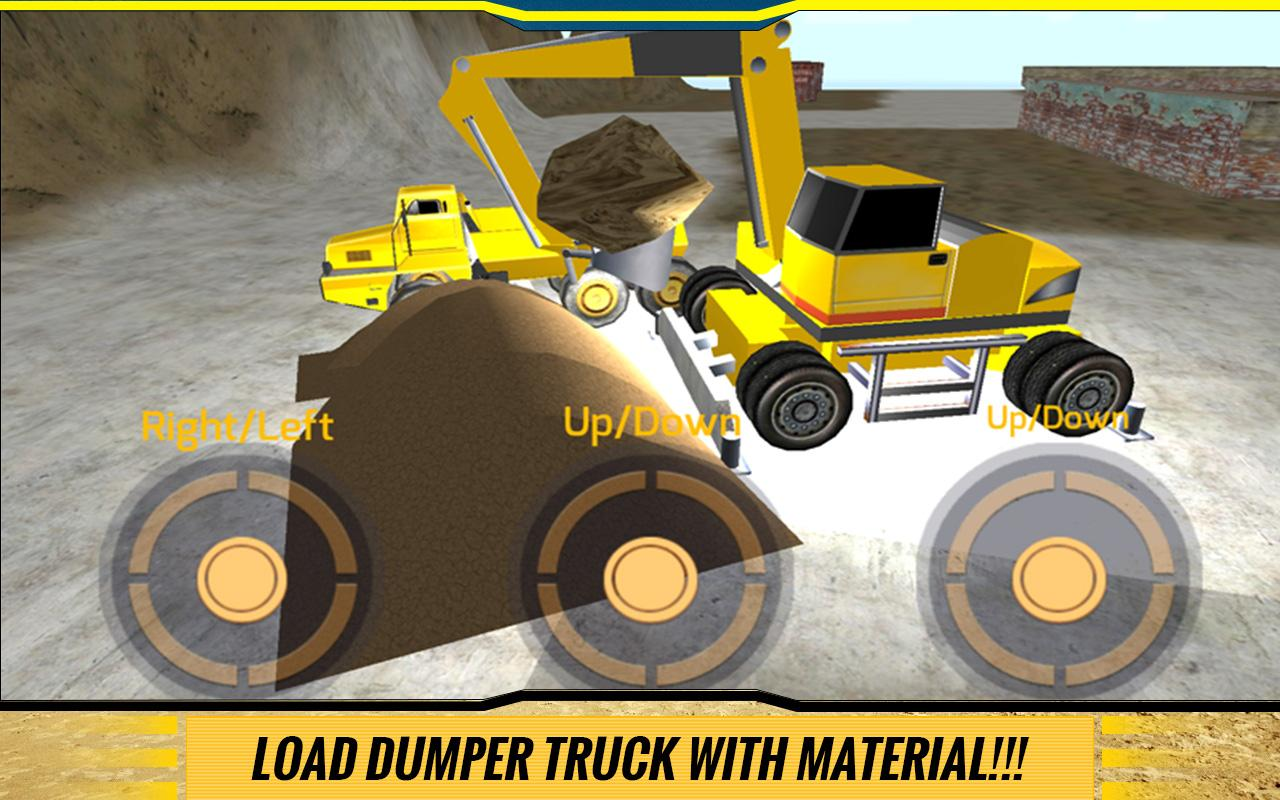 Sand-Excavator-Dump-Truck-Sim 20