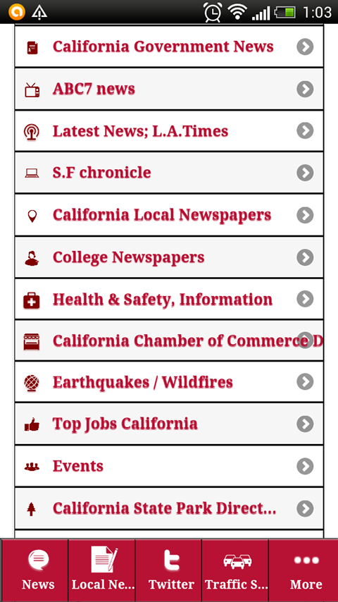 california news,Ca Information - screenshot