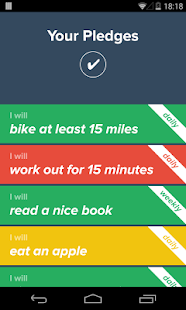 Pledge - Make New Habits- screenshot thumbnail