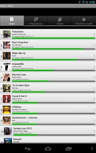 Music Chart - screenshot thumbnail