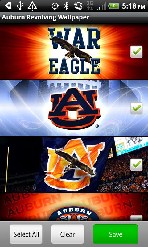 Auburn Revolving Wallpaper - screenshot