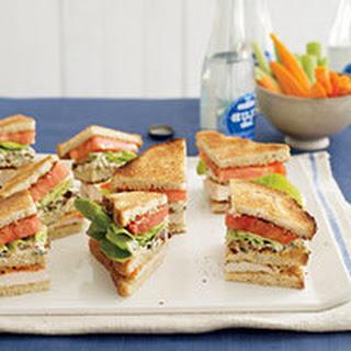 Buffalo Club Sandwiches.