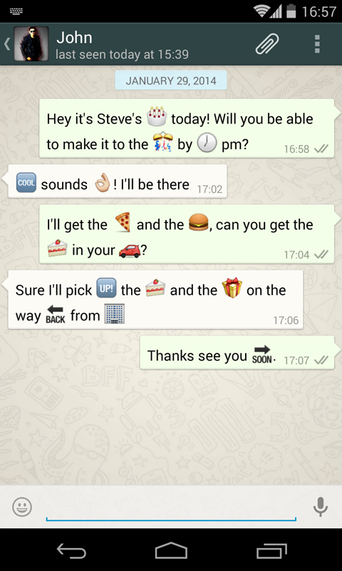 Wink It Emoji Keyboard Beta- screenshot