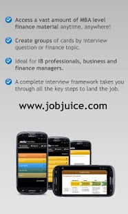 Finance & Inv.Banking Jobjuice- screenshot thumbnail