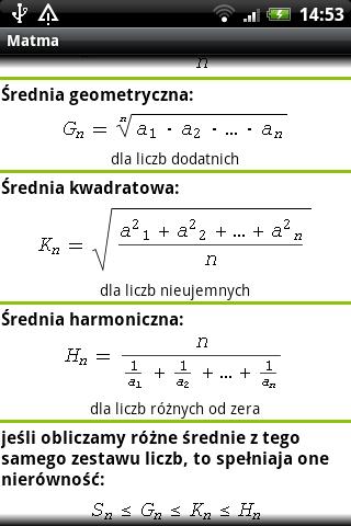 Matma - matematyka jest łatwa – zrzut ekranu