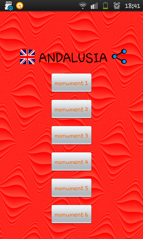 Andalusia Tourism- screenshot