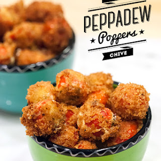 Feta and Chive Peppadew Poppers