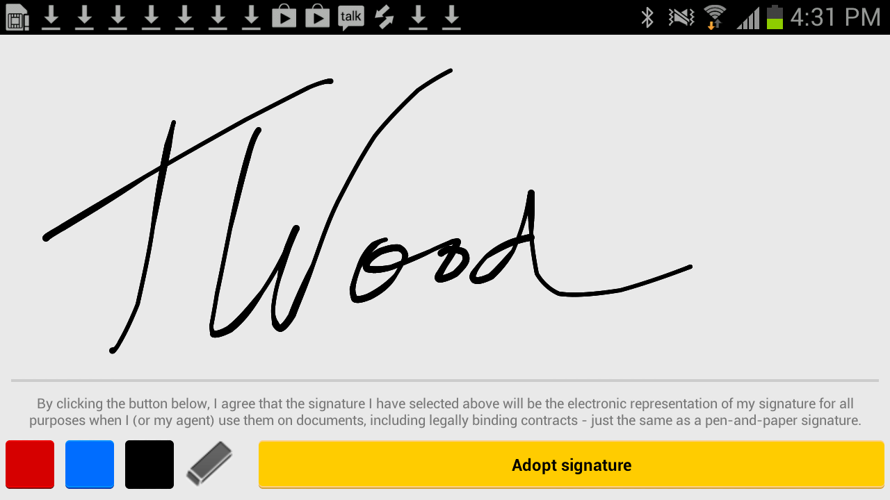 DocuSign - Sign & Send Docs - screenshot