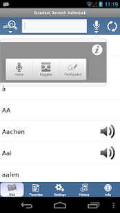 Italian - German Translator Dictionary Standard- screenshot thumbnail