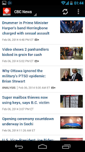 CBC News - screenshot thumbnail