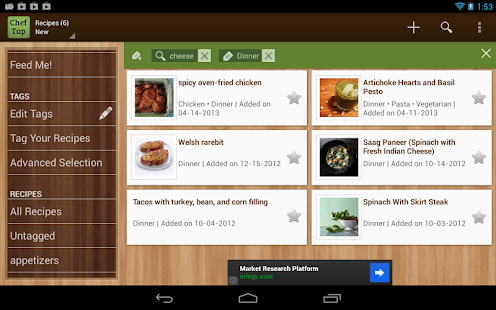 ChefTap Recipe App - screenshot thumbnail