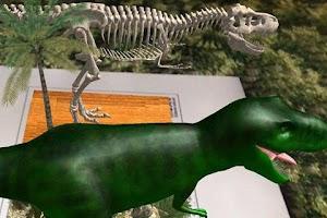 Screenshot of Logie T.Rex Augmented Reality